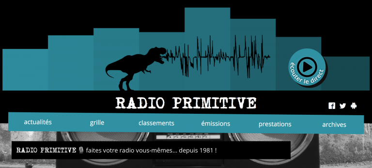 logo Radio Primitive Reims