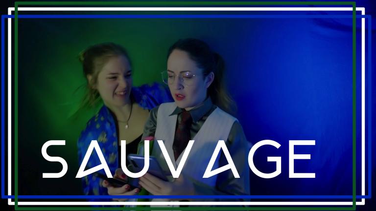 image bleue et verte sauvage le clip Lucie Joy