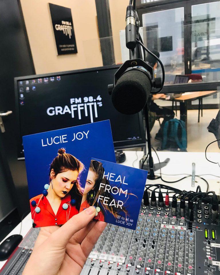 image de Lucie Joy à Radio Graffiti's