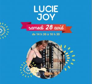 concert de Lucie Joy le 28 aout au phare de Verzenay