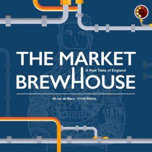 logo bleu du market Brewhouse